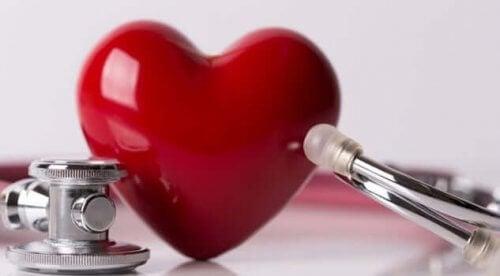 Hart en medische instrumenten