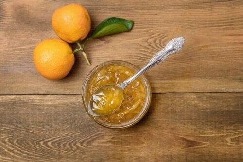 Zelf citrusjam met suikervervangers maken