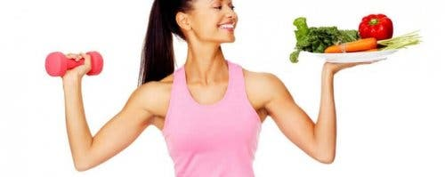 Beweging en een gezond dieet voor dunnere benen