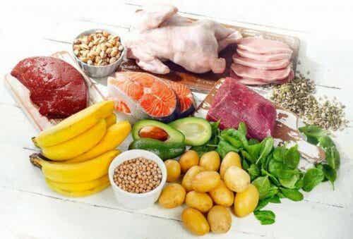 De beste voedselbronnen van vitamine B