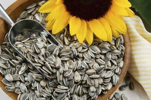 Zonnebloempitten voor je gezondheid