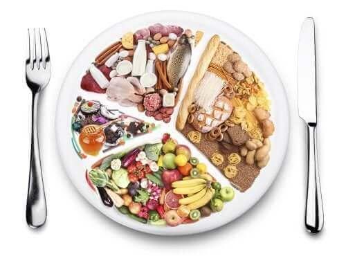 Een gebalanceerd dieet om spijsverteringsproblemen te voorkomen