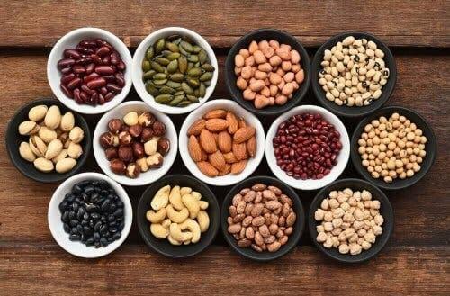 Vitamine B3 in noten