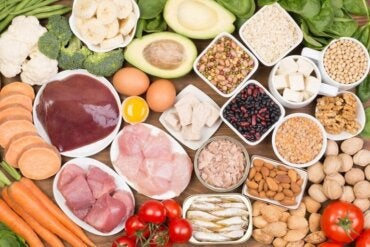 Voeding rijk aan biotine bevordert de schoonheid