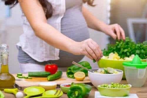 Wat moet je eten tijdens de zwangerschap?