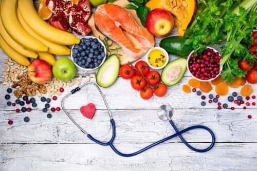 Verschillende soorten voedingsmiddelen
