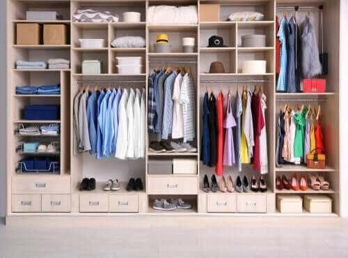 Organiseer je kleding