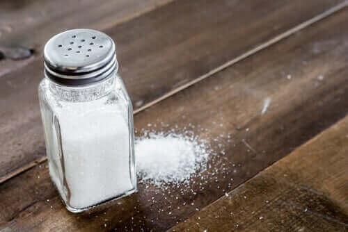Gemorst zout