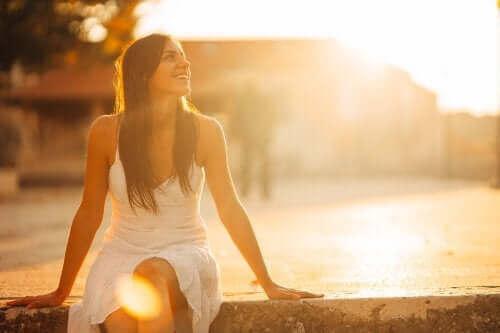 Sta jezelf toe gelukkig te zijn