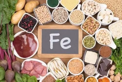 Dieet voor bloedarmoede door ijzertekort
