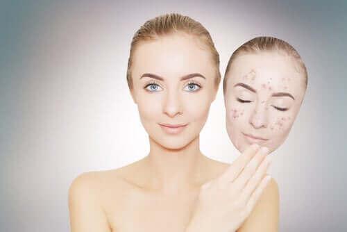 Oplichtende crèmes voor de huid