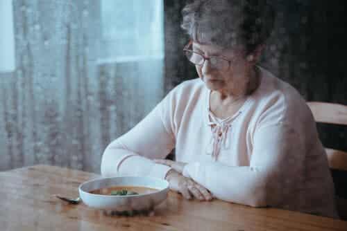 Hyporexia of gebrek aan eetlust