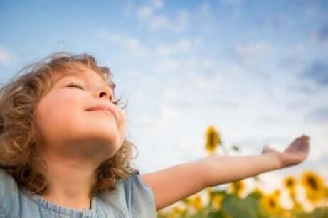 Wat we van kinderen kunnen leren is in het heden te leven