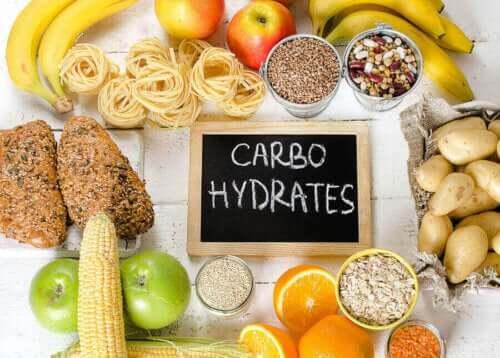 Voedingsmiddelen rijk aan koolhydraten