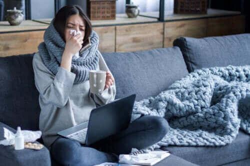 Waarom de griep zich in de winter meer verspreidt