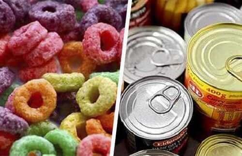 Bewerkte voedingsmiddelen horen niet thuis in het juiste dieet voor mensen met kanker