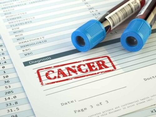 Een kankerdiagnose en bloedtests