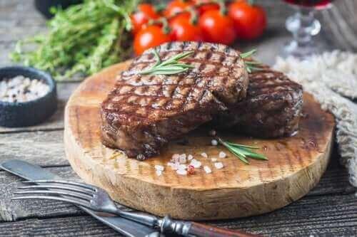 Hoeveel vlees mag je per week eten?