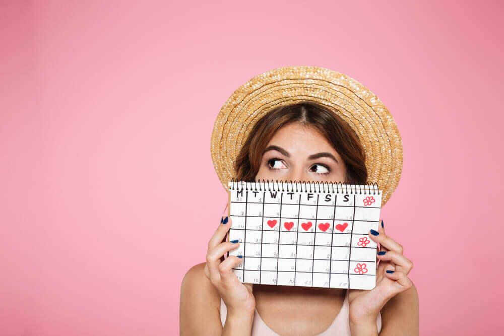 Kalender om vruchtbare dagen te weten