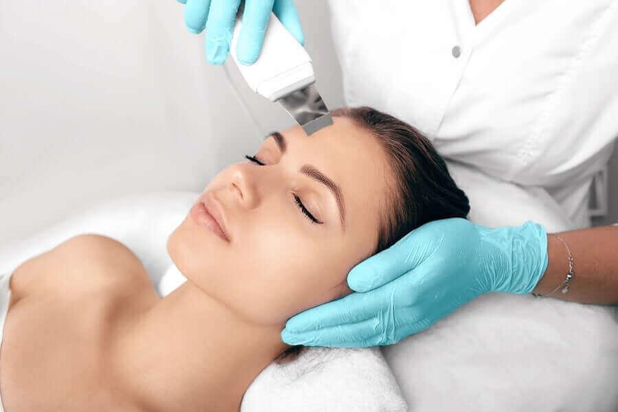 Een laserbehandeling voor de huid