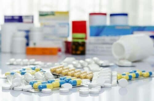 Verschillende soorten antibiotica