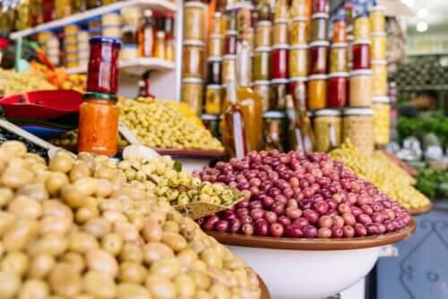 Fruit bij lokale groenteboer