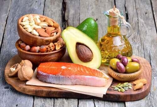 Allerlei gezonde voedingsmiddelen