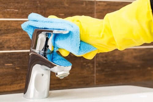 Kraan poetsen