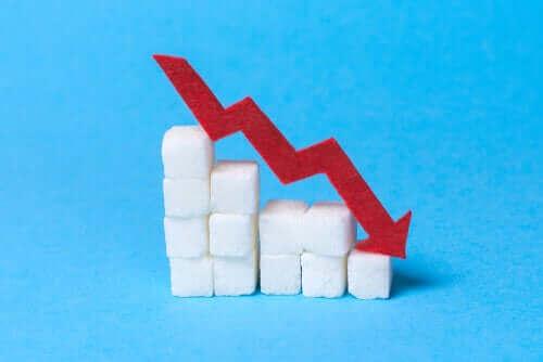De inname van suiker verminderen