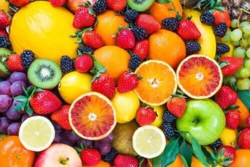 Verschillende soorten fruit