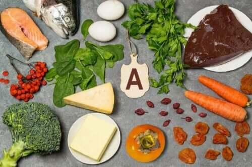 Bronnen van vitamine a