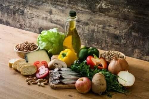 Het mediterrane dieet en de darmgezondheid
