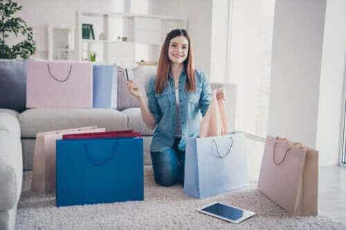 4 tekenen dat je aan winkelen verslaafd bent