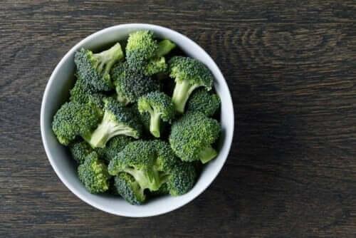 Gesneden broccoli