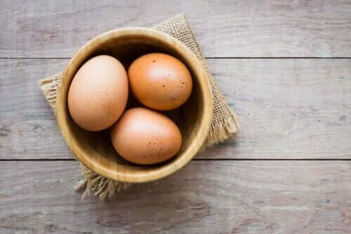 Drie eieren