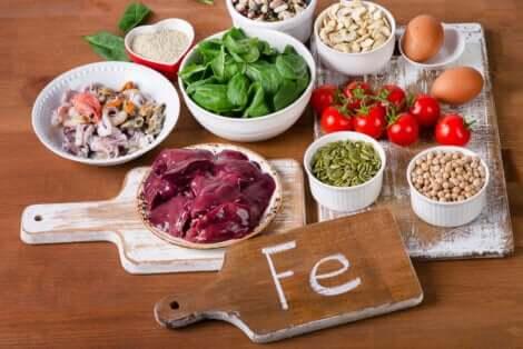 IJzerrijke voedingsmiddelen