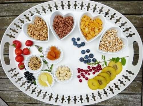 Voedingsmiddelen met koolhydraten