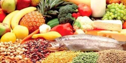 Voedingsmiddelen mt mineralen