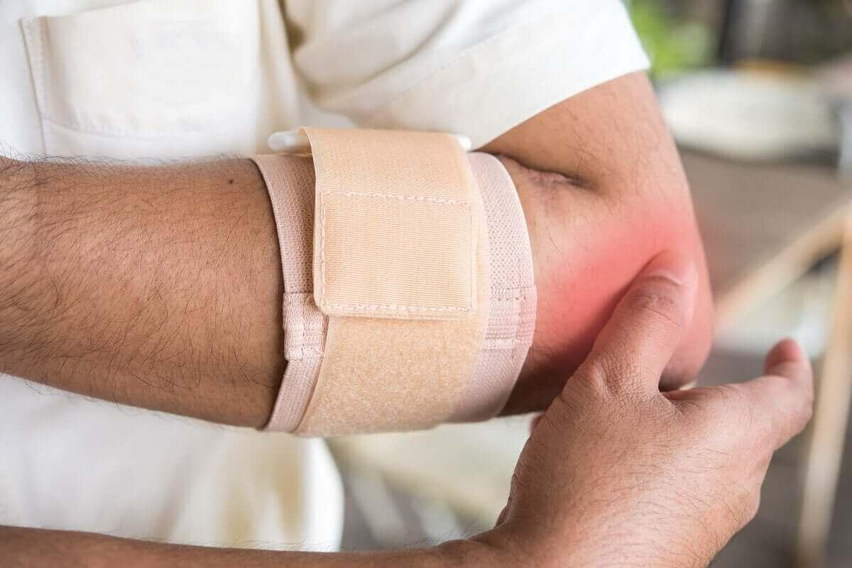 Immobilisatie van het ellebooggewricht