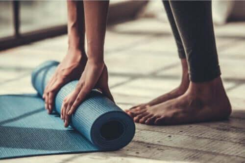 Vier eenvoudige pilates-oefeningen voor beginners