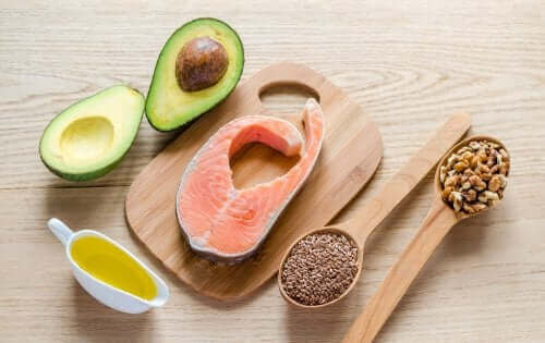 Voedingsmiddelen met vetten