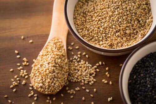 Voedingsmiddelen die linolzuur bevatten