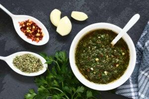 Chimichurri-saus: een gezonde dressing