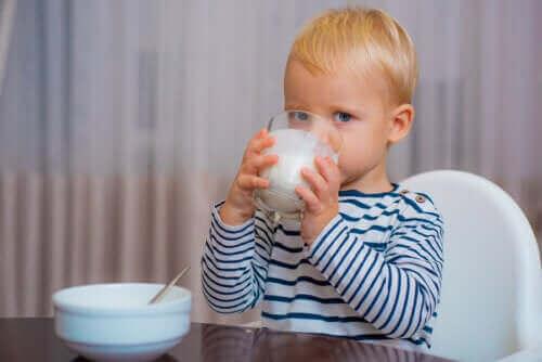 De juiste melk voor baby's na hun eerste jaar
