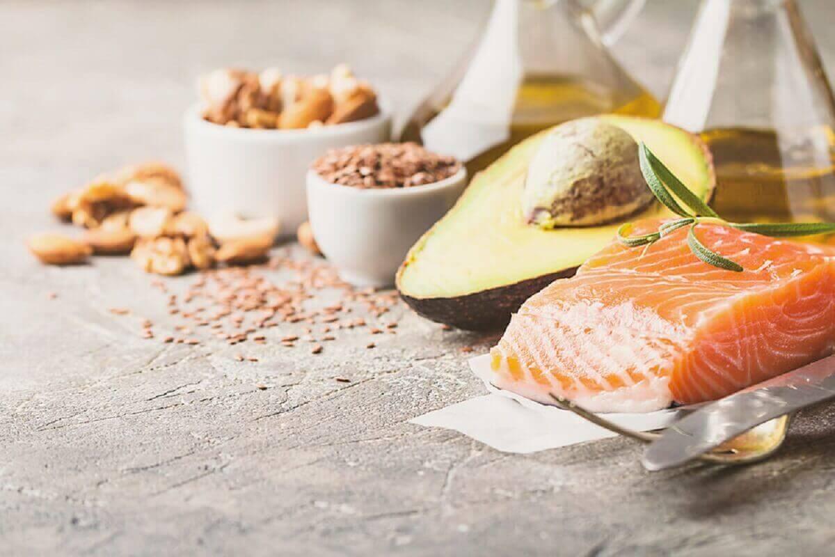 Voedsel met omega 3-vetzuren