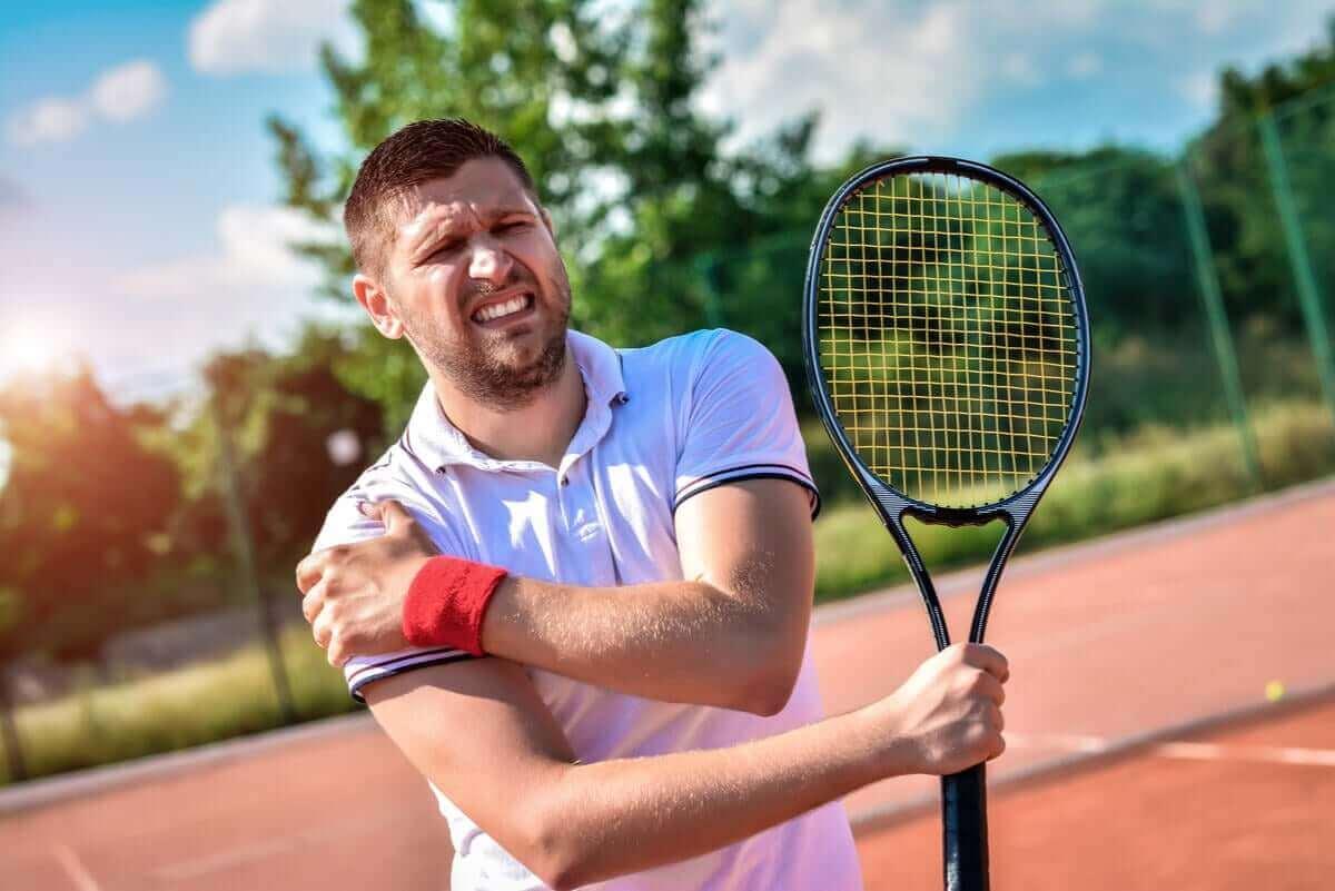 Tendinitis in je schouder door sporten