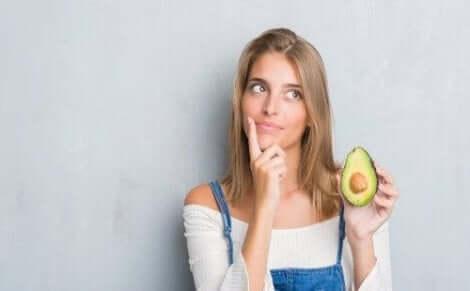 Avocado om je haar tegen de zon te beschermen