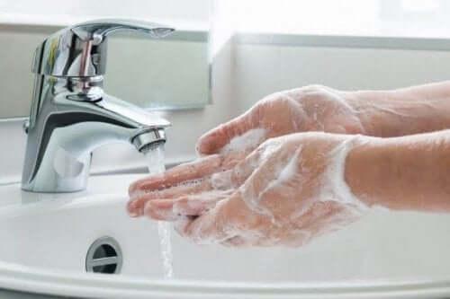 Campylobacter-infecties voorkomen door je handen te wassen
