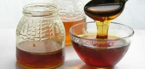 Schaaltje honing