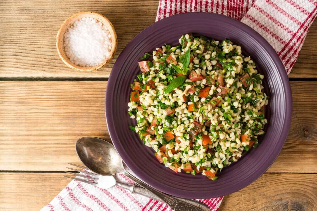 Salade met bulgur